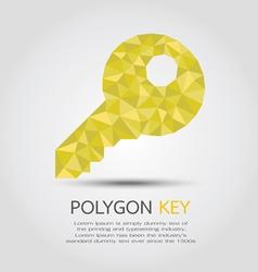 PolygonKey vector image