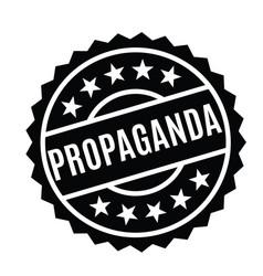 Propaganda stamp in german vector