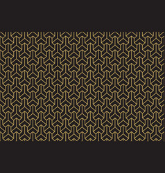 Seamless ethnic geometric three-dimensional vector