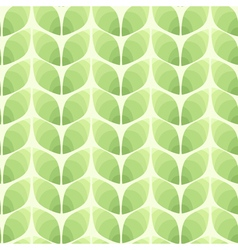Seamless pattern of abstract leaves background vector image