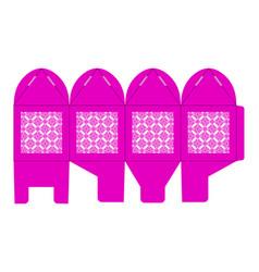 birdcage favor box wedding gift box vector image vector image