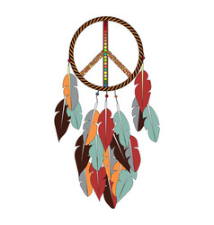 pacific dream catcher vector image