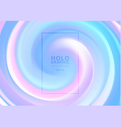 abstract holographic pastel and neon color design vector image