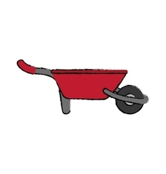 Gardening tool equipment vector