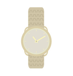 isolated fashion watch vector image