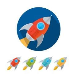 Rocket Collection vector image
