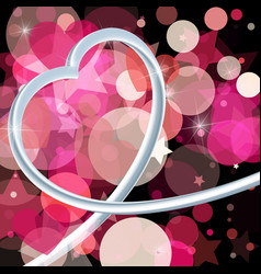 Abstract background to valentines day vector