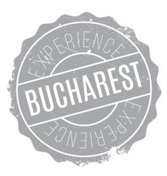 Bucharest stamp rubber grunge vector image