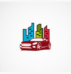 Car city logo designs concept icon element and vector