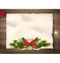 Christmas fir tree EPS 10 vector image