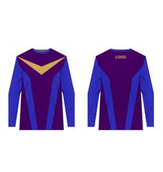 Mtb jersey templates vector