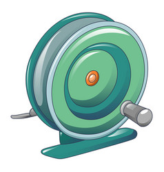 Plastic coil icon cartoon style vector
