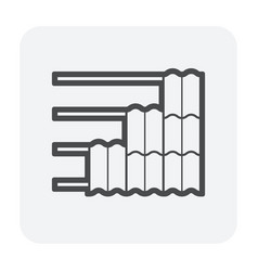 Rostructure icon vector