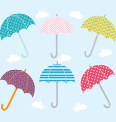 Umbrella Collection vector