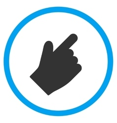 Up Right Index Finger Icon vector