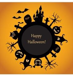 Happy Halloween fun vector image vector image