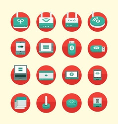 Wireless Devices vector image