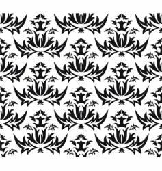 damask victorian seamless pattern vector image vector image