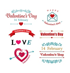 valentines day symbol vector image vector image