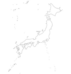 Outline Map of Japan Vector Images (over 610)