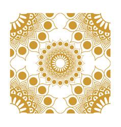 Element corner decorations gold vector