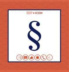Paragraph icon vector