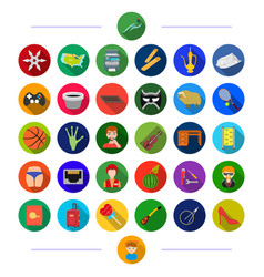 Profession tourism sport and other web icon vector