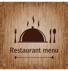Template of a Restaurant Menu vector image
