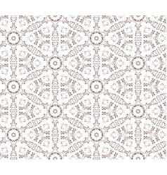 abstract seamless pattern mosaic ornament floral vector image
