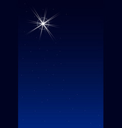The Brightest Star vector image vector image