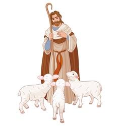 The good shepherd vector