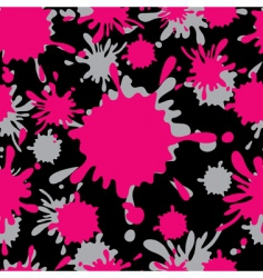 smudge seamless pattertn vector image vector image