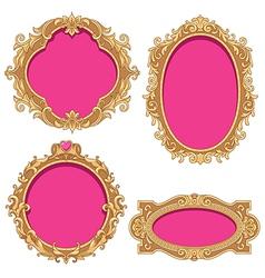 Barocco frame vector