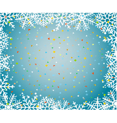 Christmas background trmplate with snowflakes and vector