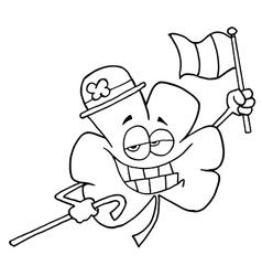 Clover cartoon vector