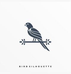 Hing bird template vector