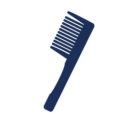 isolated comb vector image