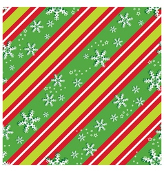 Seamless pattern in Christmas colors vector