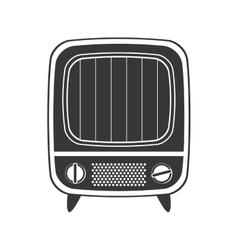 Tv icon Retro Technology design graphic vector