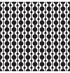 Classic circle geometric seamless pattern vector image vector image