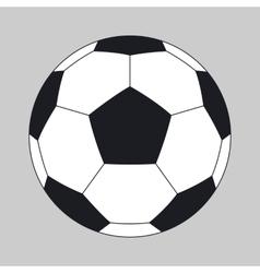 A soccer ball vector