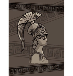 Athena drawing set vector