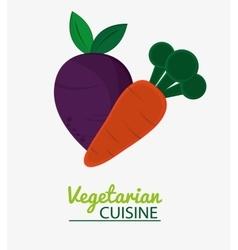 Carrot vegetable vegetarian cuisine vector