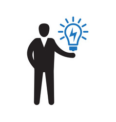 creativity finding new ideas problem solving vector image