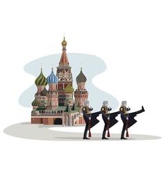 Russian Border vector image