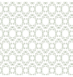 Seamless curly vintage background wallpaper vector image