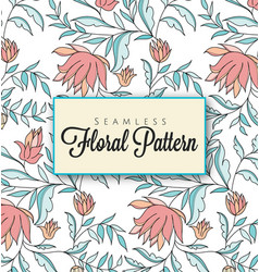 Elegant-seamless-floral-pattern vector