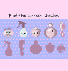 game for children with pictures childrens vector image