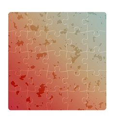 gradient field of puzzles with spots vector image