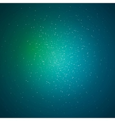 Green soft abstract background vector image